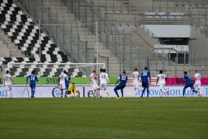 Rot-Weiss Essen gegen Schalke 04 II Spielszenen 03-04-2021