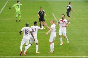 Simon Engelmann Rot-Weiss Essen vs. Bergisch Gladbach 11-04-2021 Spielszenen
