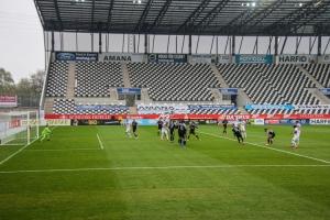 Rot-Weiss Essen vs. Bergisch Gladbach 11-04-2021 Spielszenen