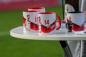 Tassen Rot-Weiss Essen vs. Sportfreunde Lotte 27-05-2021 Spielszenen