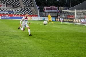 David Sauerland Rot-Weiss Essen vs. Sportfreunde Lotte 27-05-2021 Spielszenen
