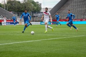 Simon Engelmann Rot-Weiss Essen vs. Sportfreunde Lotte 27-05-2021 Spielszenen