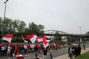 Saisonfinale Rot-Weiss Essen Verabschiedung der Mannschaft Stadion Essen 05-06-2021