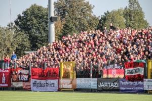 RWE Fans in Velbert gegen Uerdingen 09-10-2021