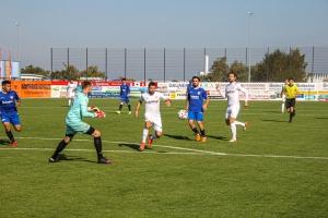 Oguzhan Kefkir im Spiel KFC Uerdingen Rot Weiss Essen Spielfotos 09-10-2021