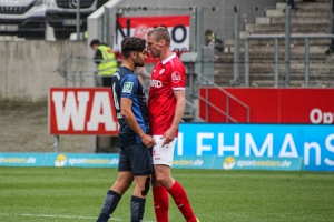 Felix Bastians Rot-Weiss Essen vs. SC Wiedenbrück Spielfotos 16-10-2021
