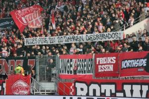 20 Jahre Desperados Dortmund Spruchband Essen