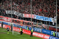 Banner: 10 Jahre Fanclub Ultras Wuppertal