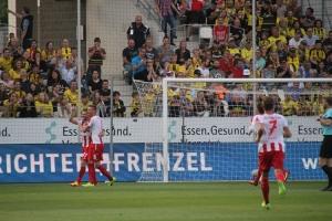 Benjamin Baier Torjubel gegen BVB