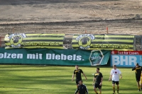 Der Acker bebt - Banner SV Hö-Nie