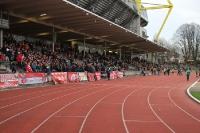 Einlauf der Mannschaften BVB gegen RWE