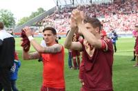 Essener feiern Pokalsieg 2015