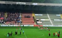 Essener Spieler nach dem Pokal-Halbfinale in Krefeld
