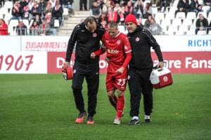 Florian Bichler verletzt
