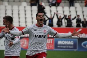 Hamdi Dahmani Tor für RWE gegen Lotte