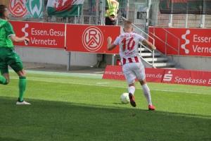 Kai Pröger im RWE-Spiel gegen Rödinghausen