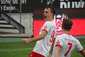 Marcel Platzek Torjubel gegen Lotte 02-11-2019