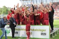 Niederrhein-Pokal Übergabe an RWO