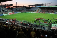 Niederrheinpokal-Finale: RWE gegen Sv Hö-Nie 3:2 - Feier