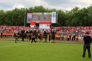 Polizeieinsatz Pokalfinale RWO gegen RWE