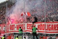 Pyro RWE Fans gegen WSV