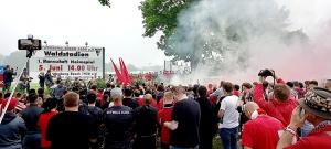 Regionalliga Saisonfinale Wegberg-Beek vs. Rot-Weiss Essen 05-06-2021
