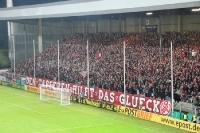 RWE-Hertha - Choreo zum Spiel