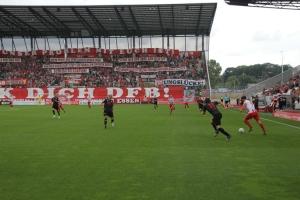 RWE Fans West gegen den DFB: Spruchband Aktion
