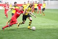 RWE Spielszenen gegen BVB U23