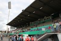 Sitzplatztribüne Georg Melches Stadion