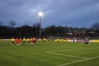 Spielszenen BVB U23 gegen RWE