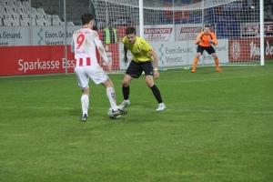 Spielszenen Rot Weiss Essen gegen Uerdingen März 2018