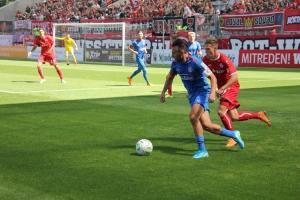 Spielszenen RWE gegen den WSV 05-08-2018