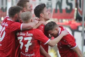 Spielszenen RWE gegen Herkenrath 16-02-2019