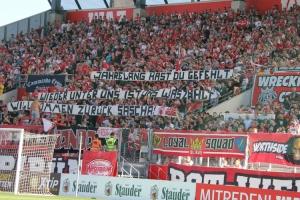 Stadionverbotler zurück Spruchband