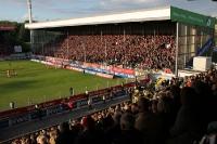 SV Hö-Nie trifft zum 1:0 gegen RWe