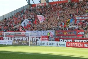 Ultras Essen begrüßen Stadionverbotler
