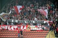 Ultras Essen Spruchband: Das wahre Finale dahoam