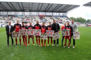 Verabschiedung von RWE Spielern Mai 2019