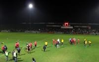 VfB Homberg - RWE: Endstand 0:1 nach 120 Minuten