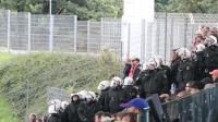 WSV gegen RWE: Polizeieinsatz