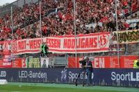 Zaunfahne Rot Weiss Essen Hooligans gegen WSV 2016