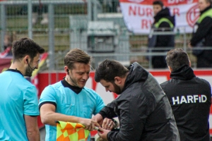 RWE gegen RWO Spielszenen 16-02-2019