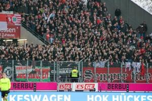 RWO Fans im Stadion Essen 16-02-2019