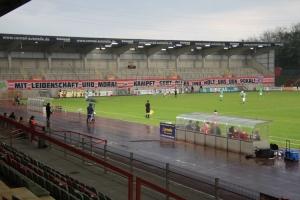 Stadion Niederrhein RWO gegen RWE Niederrheinpokal Viertelfinale 12-05-2021 Spielszenen