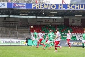 Isaiah Young RWO gegen RWE Niederrheinpokal Viertelfinale 12-05-2021 Spielszenen