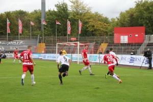 Spielszenen Oberhausen gegen Krefeld 08-10-2017