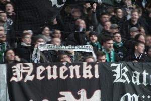 Support Münster Fans Ultras in Duisburg 2017