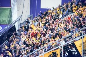 Dynamo Dresden in Leverkusen 12. April 2003