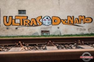 Graffiti der SG Dynamo Dresden